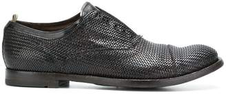 Officine Creative lace fastening loafers