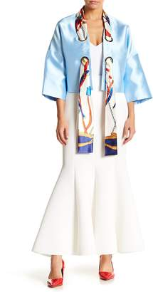 Why Dress Maxi Mermaid Scuba Skirt