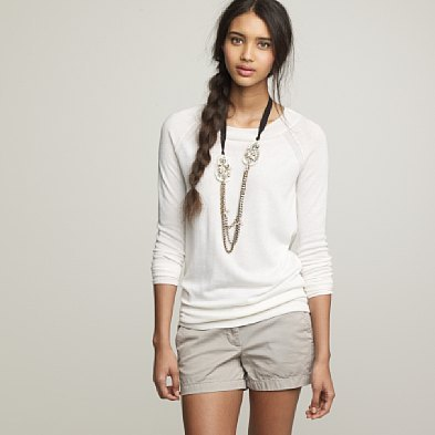 Featherweight cashmere pullover