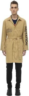 Perks And Mini Pam Executive High Unisex Nylon Trench Coat
