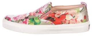 Gucci 2017 Bloom Slip-On Sneakers