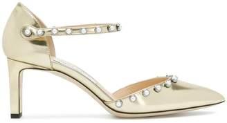 Jimmy Choo Leema 65 pearl embellished pumps