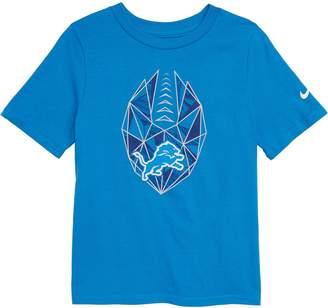 Nike NFL Logo Detroit Lions Graphic T-Shirt