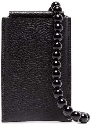 Building Block iPhone Case Leather Crossbody Pouch