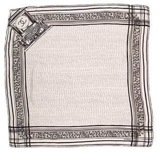 Chanel Silk CC Scarf