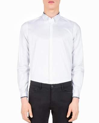 The Kooples Smart Twill Slim Fit Button-Down Shirt
