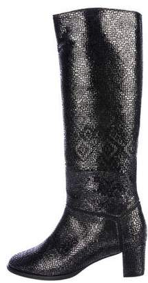 Roseanna Metallic Knee-High Boots w/ Tags