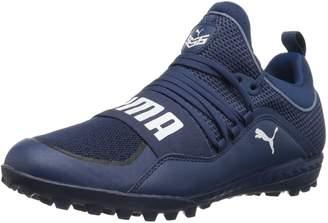 Puma Men's 365.18 Ignite ST Soccer Shoe, Black-Flame Scarlet-Castor Gray, 10 M US
