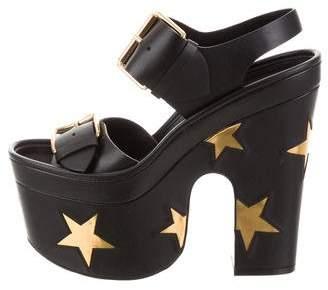 Stella McCartney 2017 Star Platform Sandals