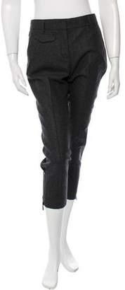 Belstaff Straight-Leg Mid-Rise Pants