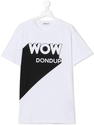 Dondup Kids TEEN graphic print T-shirt