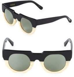 Artist 47MM Aviator Sunglasses