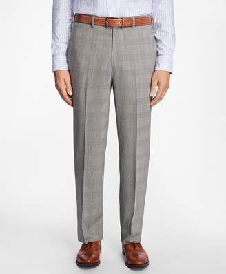 Brooks Brothers Madison Fit BrooksCool Glen Plaid Trousers