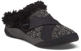 Slip On Cozy Lined Comfort Clogs