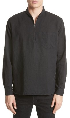 Men's Our Legacy Woven Half Zip Pullover $160 thestylecure.com