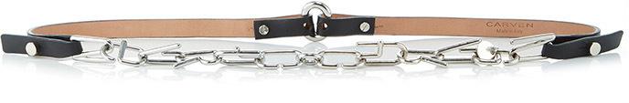 CarvenCarven Metallic Chain Belt