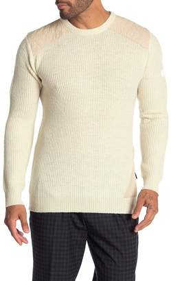 Scotch & Soda Rib Knit Structured Pullover Sweater