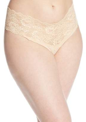 Cosabella Women's Plus-Size Never Say Never Lovelie Thong Panty