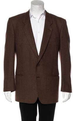 Giorgio Armani Twill Two-Button Blazer