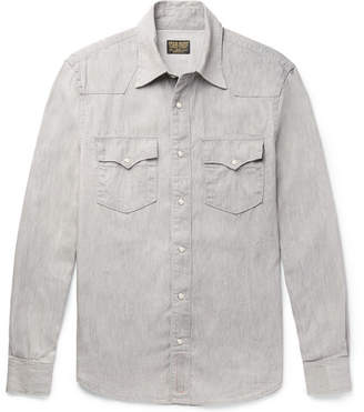 Kingsman + Jean Shop Statesman Selvedge Denim Shirt