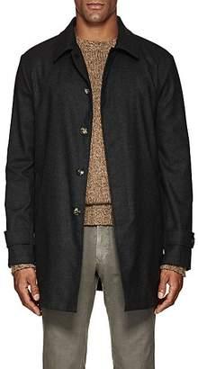 Isaia Men's San Gennaro Bonded Cashmere Coat - Gray