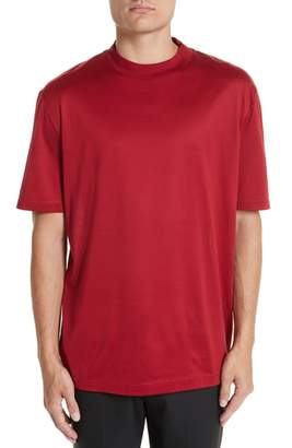 Lanvin Mock Neck T-Shirt