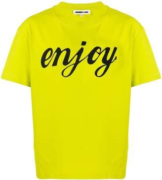 McQ Enjoy print T-shirt
