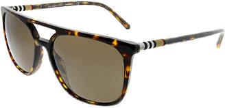 Burberry Men's Square 57Mm Sunglasses