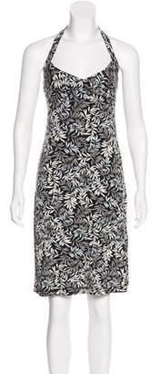 BCBGMAXAZRIA Sleeveless Knee-Length Dress