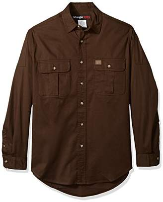 Wrangler Men's Tall Size Riggs Workwear Work Shirt