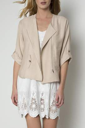 Urban Touch Zip Detailed Jacket