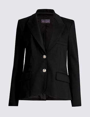 Marks and Spencer Tailored Gold Button Blazer