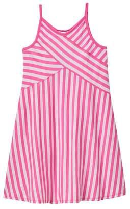 Splendid Stripe Seasonal Basic Tank Dress (Big Girls)