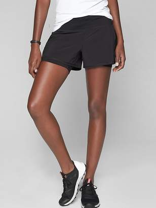 Athleta Ready Set Go 2 in 1 Short 4""