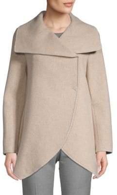 Cinzia Rocca Long-Sleeve Heathered Jacket