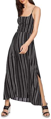 1 STATE 1.STATE Cinched-Waist Maxi Dress