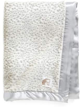 Giraffe at Home 'Luxe Snow Leopard' Faux Fur Throw