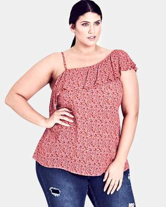 City Chic Baby Blossom Top