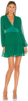BCBGeneration Tiered Mini Dress