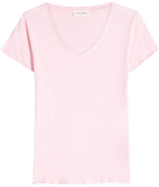 16a7c788233fb9 American Vintage Pink Women's Tees And Tshirts - ShopStyle