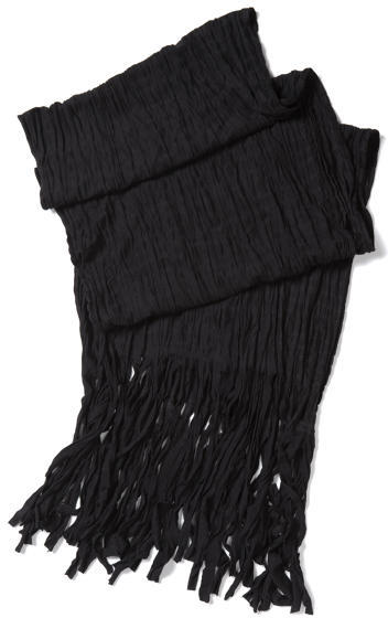 Express Scarf - Solid Fringed Jersey