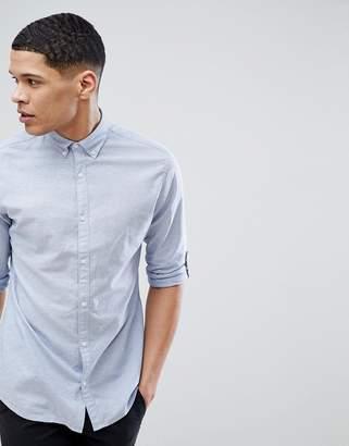 Jack and Jones slim fit shirt in linen mix