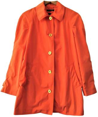 Lauren Ralph Lauren Orange Trench Coat for Women