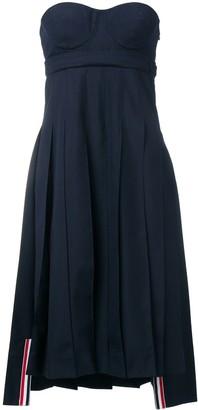 Thom Browne School Uniform Corset Dress