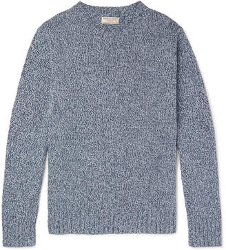 J.Crew Slim-Fit Mélange Recycled Denim Sweater