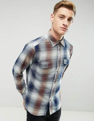 Esprit Shirt In Regular Fit In Heavy Check Cotton