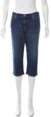 Adriano Goldschmied Cropped Mid-Rise Jeans