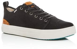 4c233af4718 Toms Men s TRVL LITE Canvas Low-Top Sneakers