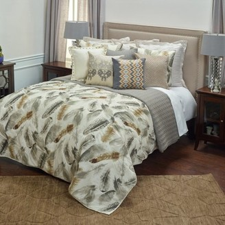 Rizzy Home Feathered Nest Queen Size Quilt 90 Inches X 92 Inches