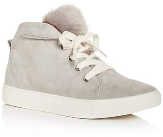 Jaggar Women's Suede & Faux-Fur Mid Top Sneakers
